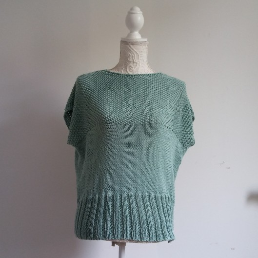 dill tee we are knitters aquamarine 2