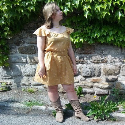 robe jaune morue 1