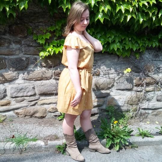 robe jaune morue 2