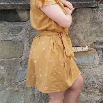 robe jaune morue 5