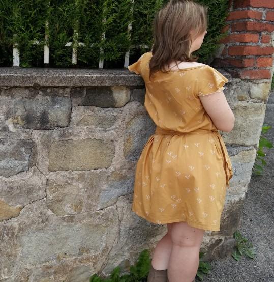 robe jaune morue 6