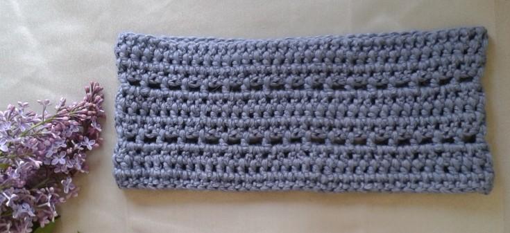 snood bleu chouette kit bride crochet morue 6