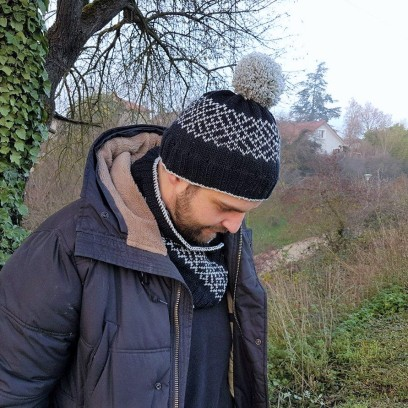 makerist-bonnet-snood-jacquard-tricot-homme-3