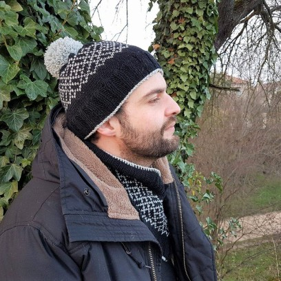 makerist-bonnet-snood-jacquard-tricot-homme-5