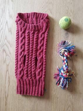 pull-tricot-torsade-chien-dog-knit-drops-bergere-de-france-fileco-vieille-morue-3