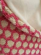 bee blanket we are knitters knit cotton malabar couverture abeille naissance chat bébé 4