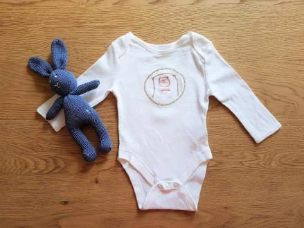 broderie brod me bergère de france body lapin chouette kit bébé 1