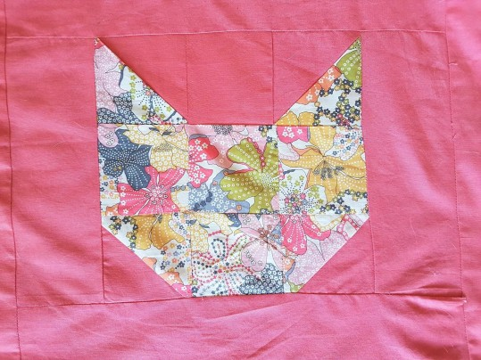 couverture plaid blanket chouette kit cat patch chat patchwork liberty sew couture 15