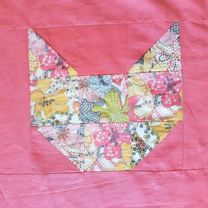 couverture plaid blanket chouette kit cat patch chat patchwork liberty sew couture 16