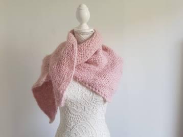 atelier créatif tricot vieille morue châle