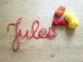 atelier créatif vieille morue mot prénom tricotin