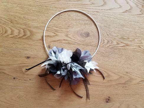 couronne fleurs flower tissu couture sew mondial tissus atelier ikea toto swap 1