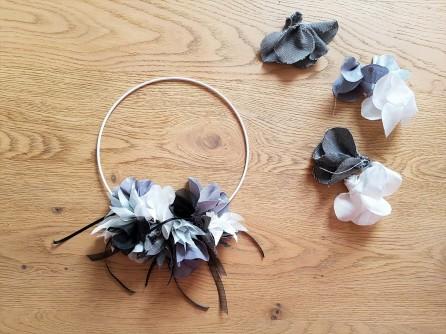 couronne fleurs flower tissu couture sew mondial tissus atelier ikea toto swap 2