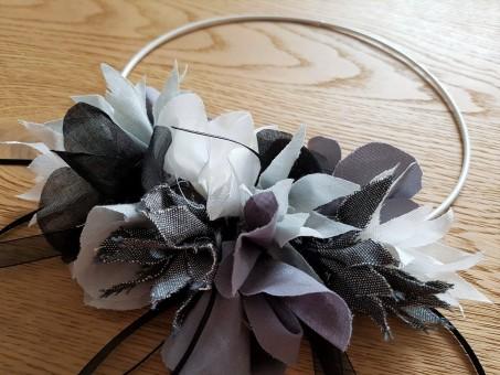 couronne fleurs flower tissu couture sew mondial tissus atelier ikea toto swap 3