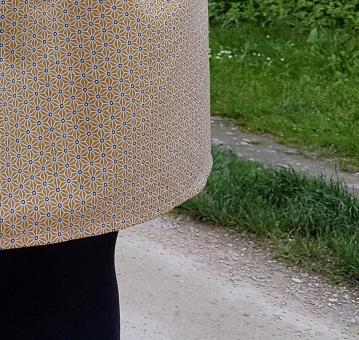 jupe 2 mailles en l'air défi chataigne deer and doe patron couture mondial tissu 8