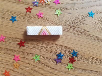 bague perle bead miyuki peyote brickstitch tissage tuto swap chouette 2