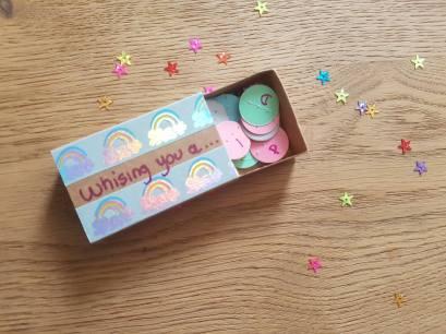 matchbox diy mini boîte allumette anniversaire 2