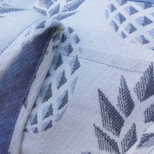 sac bowling bandouillère chouette kit toile ananas biais zip tissu couture sport diy morue 2