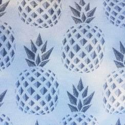 sac bowling bandouillère chouette kit toile ananas biais zip tissu couture sport diy morue 6