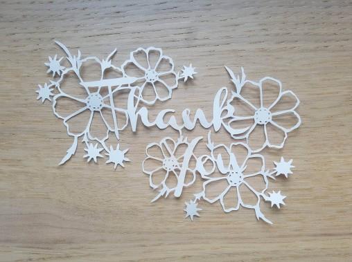 vieille morue papercut Scherenschnitte découpe papier canson cutter quilting thank you merci flower fleur 3