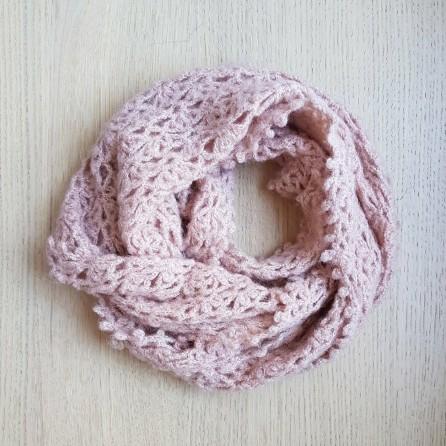 vieille morue chèche foulard châle phildar phil light crochet dentelle 10
