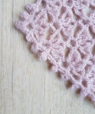 vieille morue chèche foulard châle phildar phil light crochet dentelle 11