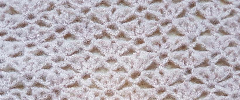 vieille morue chèche foulard châle phildar phil light crochet dentelle 12