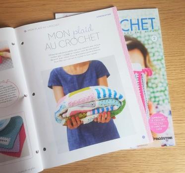 altaya mon atelier crochet magazine fascicule plaid couverture déco granny vieille morue