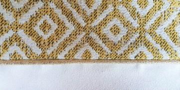 pochette mila mouna sew vieille morue kit couture mode aztèque géométrique suédine jacquard 7