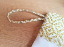 pochette mila mouna sew vieille morue kit couture mode aztèque géométrique suédine jacquard 8