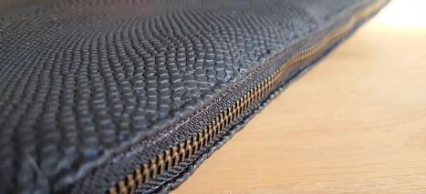 vieille morue housse étui ordinateur portable masculin couture simili cuir molleton molletonnage doublure h&e tissus toto mondial star wars storm troopers 7