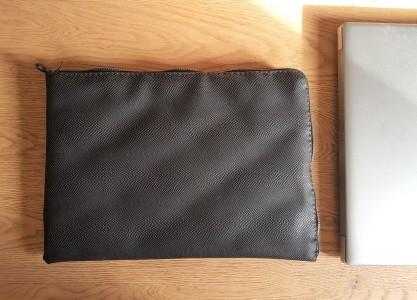 vieille morue housse étui ordinateur portable masculin couture simili cuir molleton molletonnage doublure h&e tissus toto mondial star wars storm troopers 9