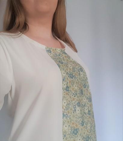 vieille morue couturette blouse robe lila patron couture sew graphique liberty crêpe 13