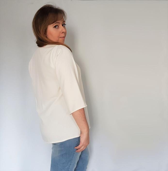 vieille morue couturette blouse robe lila patron couture sew graphique liberty crêpe 4