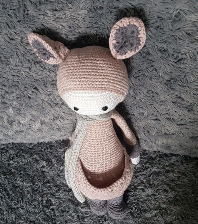 vieille morue lalylala kira kangourou kangaroo amigurumi crochet 11