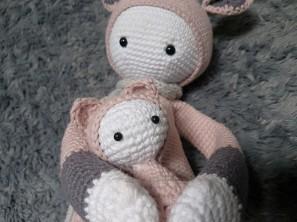 vieille morue lalylala kira kangourou kangaroo amigurumi crochet 16