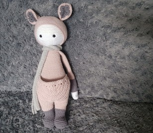 vieille morue lalylala kira kangourou kangaroo amigurumi crochet 17