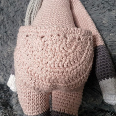 vieille morue lalylala kira kangourou kangaroo amigurumi crochet 9