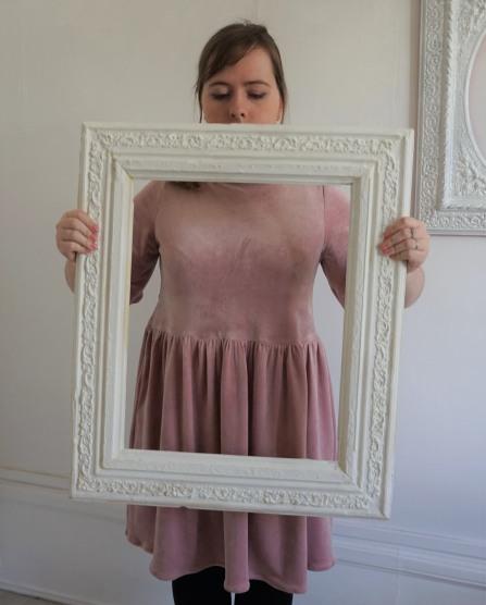la maison victor magazine couture mai juin 2016 robe fran velour fronces vieille morue 13