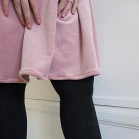 la maison victor magazine couture mai juin 2016 robe fran velour fronces vieille morue