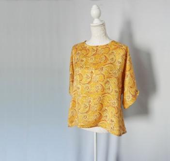 couturette blouse top combi assia dos noeud soie vieille morue 1