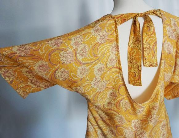 couturette blouse top combi assia dos noeud soie vieille morue 7