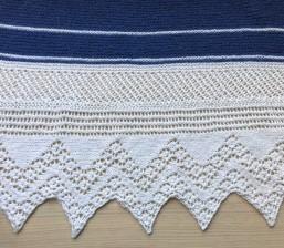 chale bord de mer petit bout de moi shawl vieille morue dentelle lace tricot knit drops alpaga 12