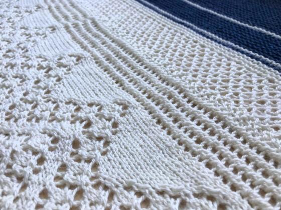 chale bord de mer petit bout de moi shawl vieille morue dentelle lace tricot knit drops alpaga 13