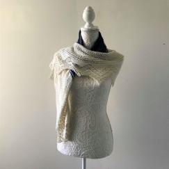 chale bord de mer petit bout de moi shawl vieille morue dentelle lace tricot knit drops alpaga 2