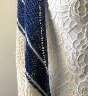 chale bord de mer petit bout de moi shawl vieille morue dentelle lace tricot knit drops alpaga 4