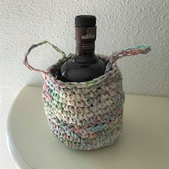 fée du tricot crochet panière thaïlandaise creative paper rico design fil papier vieille morue 2
