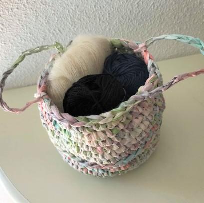 fée du tricot crochet panière thaïlandaise creative paper rico design fil papier vieille morue 3