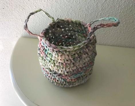 fée du tricot crochet panière thaïlandaise creative paper rico design fil papier vieille morue 4