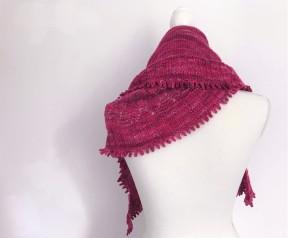 chale shawl amélia petit bout de moi dentelle tricot vieille morue 1